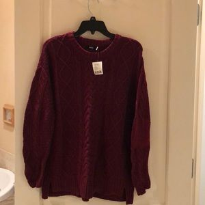 NWT Urban Outfitters Maroon Sweater